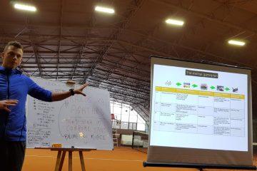Presenting on performing under pressure